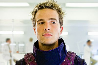 In 2010 US network Syfy created a miniseries resurrecting the purple-suited comic book hero, who was played by former <i>Desperate Housewives</i> hottie <b>Ryan Carnes</b>.