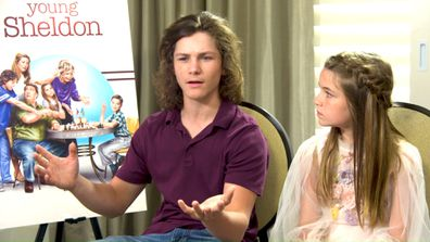 Raegan Revord and Montana Jordan reveal what it's like being a child star