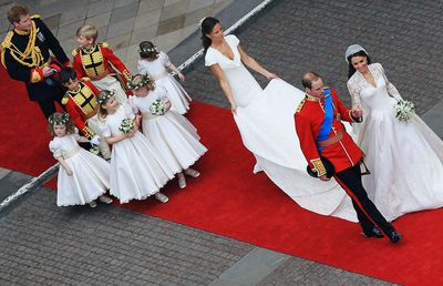 Prince William and Kate Middleton's royal wedding day