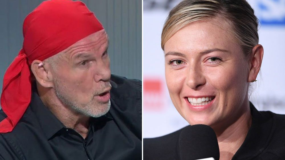 Peter FitzSimons says Maria Sharapova should be playing at French Open