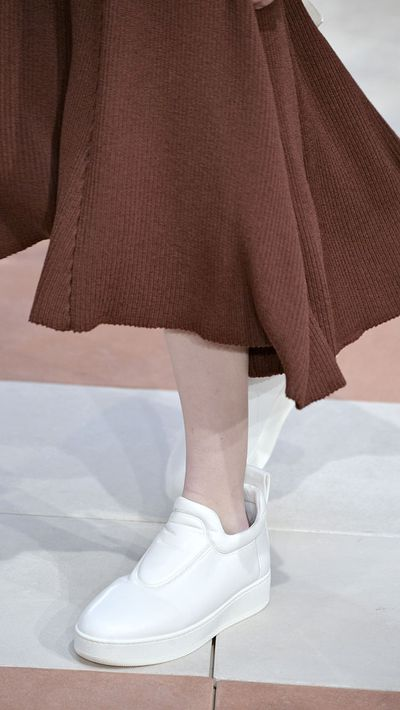Last season: Brighter-the-better sneakers<br>This season: Crisp white (preferrably Adidas, or Celine)