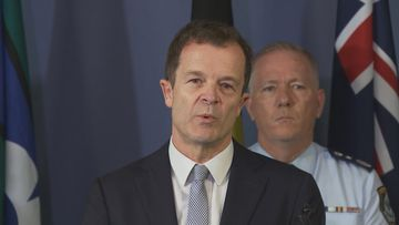 NSW Attorney General Mark Speakman announcing major changes to the state's consent laws today.