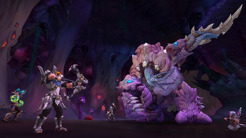 Screen shot from World of Warcraft game.