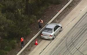 Tyres blown on multiple cars after screws fall on M1 at Pimpama