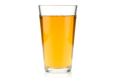Cider: About half a pint is 100 calories