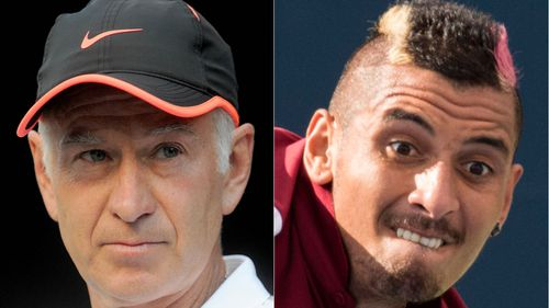 Aussie tennis star Nick Kyrgios warned he risks being 'railroaded out of town' over on-court antics