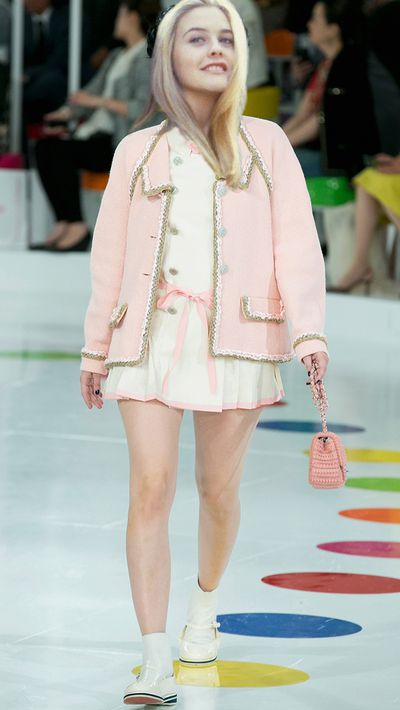 <p>Of course, she'd be the best-dressed girl at Bronson Alcott High School in Chanel's Cruise 2016 collection.</p>