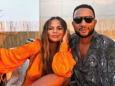 Chrissy Teigen, John Legend, Instagram photo