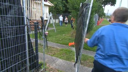 Demolition begins at Cairns house where eight children were found dead