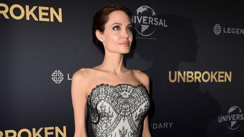 Angelina Jolie directed the WWI epic Unbroken. (AAP)