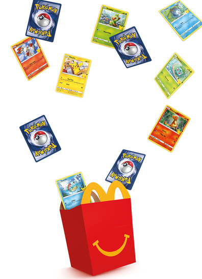 McDonald's Australia Pokemon Happy Meal collector cards