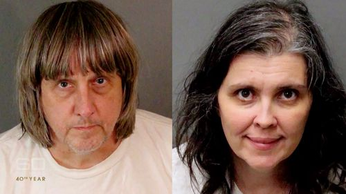 If found guilty, David and Louise face 94 years in prison. Picture: 60 Minutes