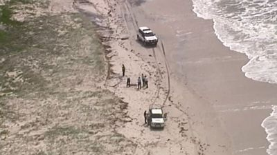 Two bodies found washed up on island beach