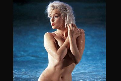 Marilyn caused a stir when she went completely nude on the set of her final, unfinished film <i>Something's Gotta Give</i> back in 1962.
