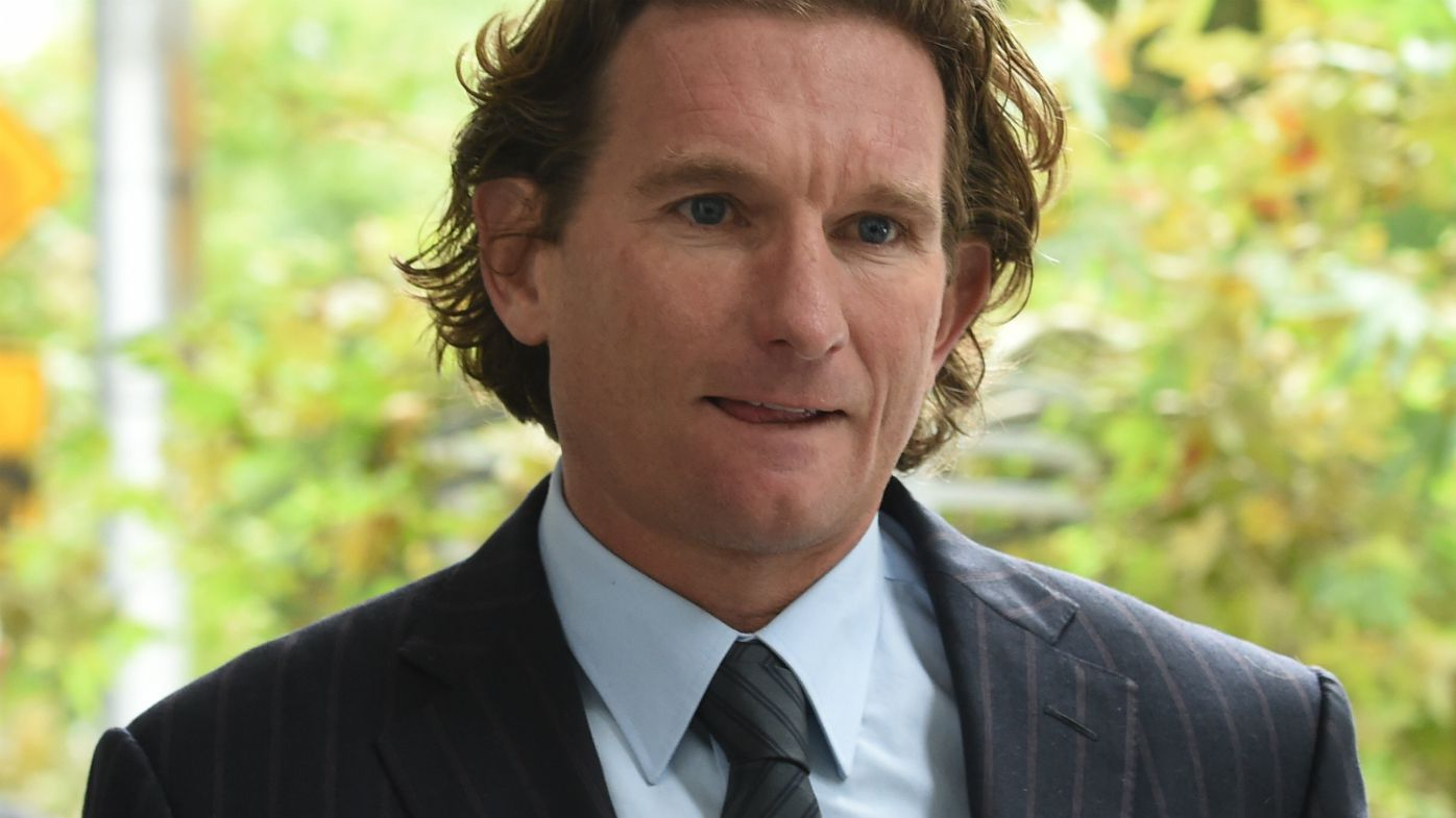 Former Essendon coach James Hird