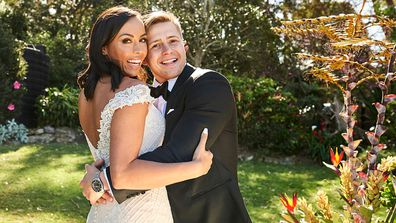 Natasha and Mikey's official wedding album, Married At First Sight (MAFS) 2020