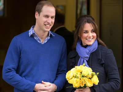 The Duchess of Cambridge's first pregnancy is announced, December 2012