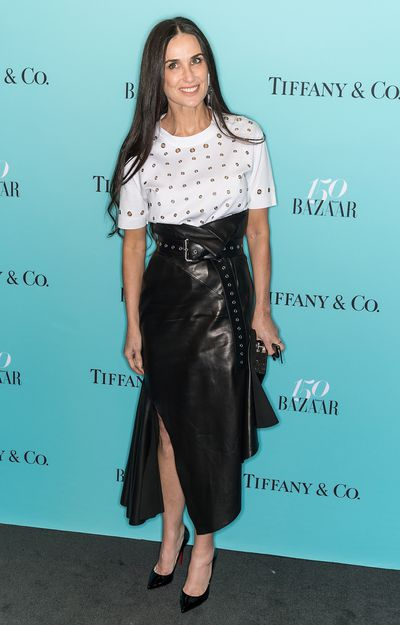 <em>Ghost</em> star Demi Moore at the <em>Harper's Bazaar</em> 150th anniversary in New York.