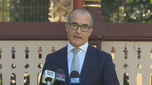 Deputy Premier James Merlino said Victoria's large spike in COVID-19 cases would come as a shock.