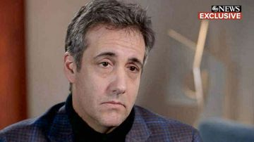 Donald Trump's former personal lawyer Michael Cohen.