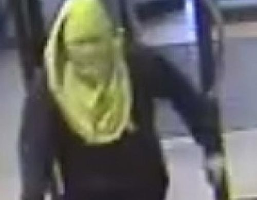 A still of one of the gang members released by Melbourne police.