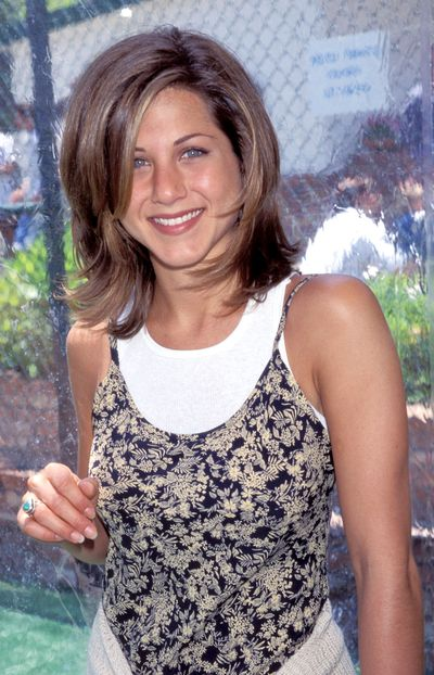 <p>Choppy layered 'dos</p> <p>Muse - Jennifer Aniston pictured in 1995</p>