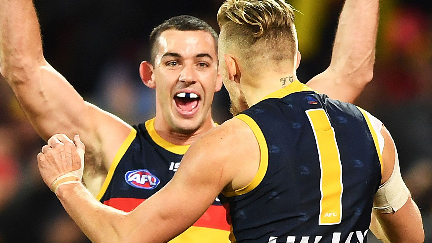 AFL's Eagles stunned as Tex inspires Crows