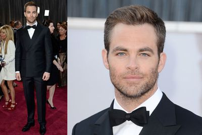 The hottest Trekkie in Hollywood, Chris Pine.