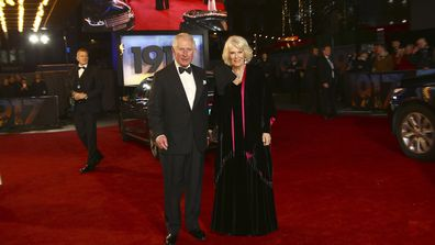 "Prince Charles, Prince of Wales and Camilla, Duchess of Cornwall attend the ""1917"" World Premiere and Royal Performance at the Odeon Luxe Leicester Square on December 04, 2019"
