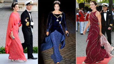 The gorgeous gowns worn by Crown Princess Mary through the years