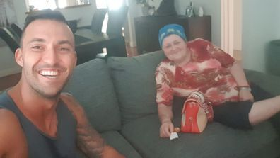 Nic from MAFS with grandmother