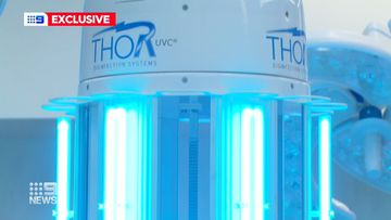 Aussie hospitals using 'Thor' robot to fight off harmful superbugs