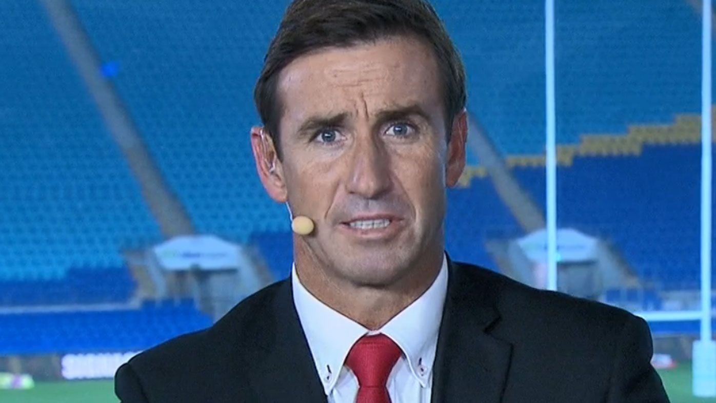 Andrew Johns slams NRL refereeing after Rabbitohs win over Titans