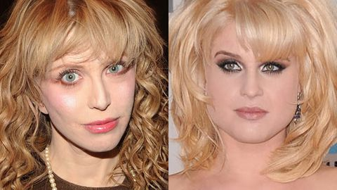 Courtney Love and Kelly Osbourne