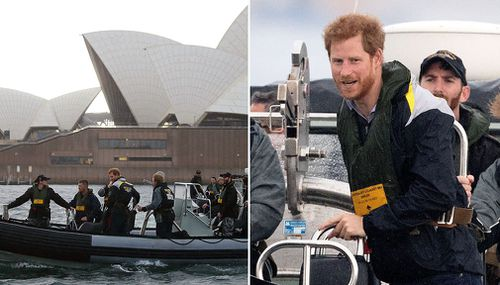 Prince Harry ended his brief Aussie trip with a visit to sites being prepared for the 2018 Invictus Games. (AAP)