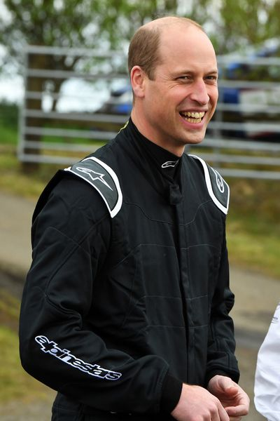 Prince William in Fife, May 22