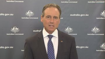 Federal Health Minister Greg Hunt has addressed concerns about the AstraZeneca coronavirus vaccine.