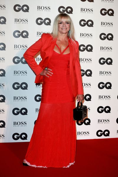 Jo Wood at the British GQ Men of the Year Awards