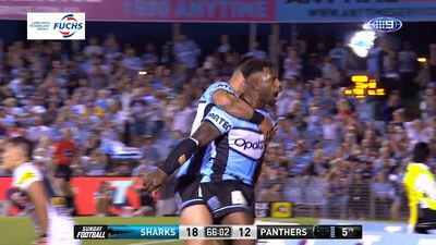 Injury-ravaged Cronulla Sharks' inspired win over Penrith Panthers crowned Fuchs Performance of the Week