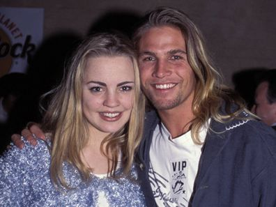 Melissa George and Nathan Harvey in 1995