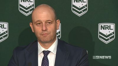 NRL boss Todd Greenberg denies wrongdoing after explosive Kieran Foran report