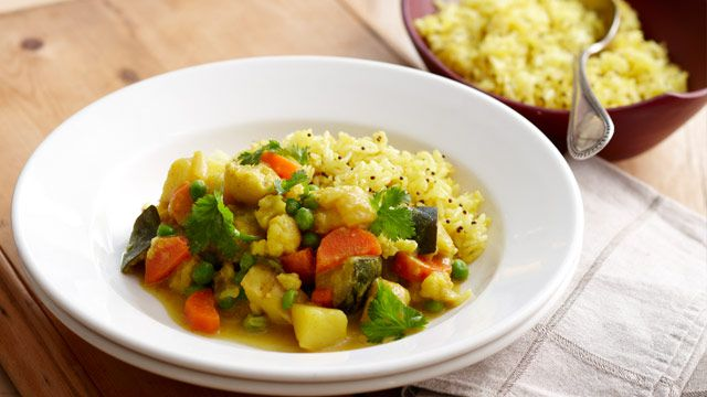 Vegetable curry for $10