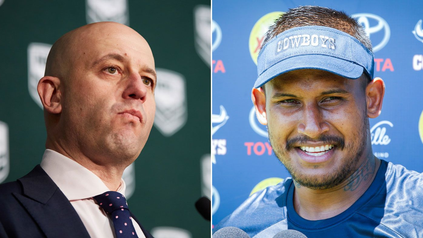 NRL threatens Barba with life ban if domestic violence claims proven