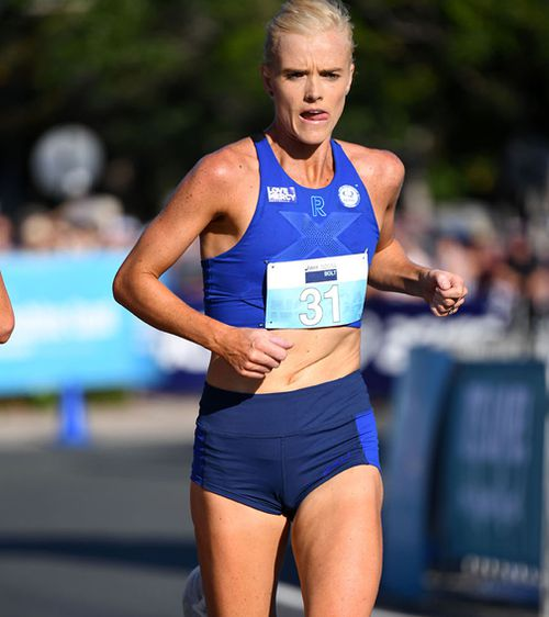 Australian Commonwealth Games runner Eloise Wellings told 9News.com.au she wears compression wear to avoid injury and help her recovery.