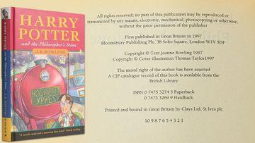 Harry Potter book sells for $151k