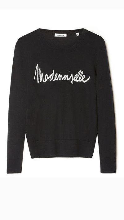 "<a _tmplitem=""17"" href=""http://www.marcs.com.au/product-detail.html?styl=17216&clr=BLK/IVORY&cat=764#.VRteSvmUeYg""> Silk/Cashmere Mademoiselle Knit, $159, Marcs</a>"
