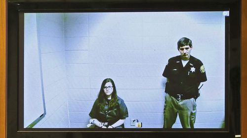 Anissa Weier (left) and Morgan Geyser were 12 when they stabbed their friend to appease fictional online character Slenderman.