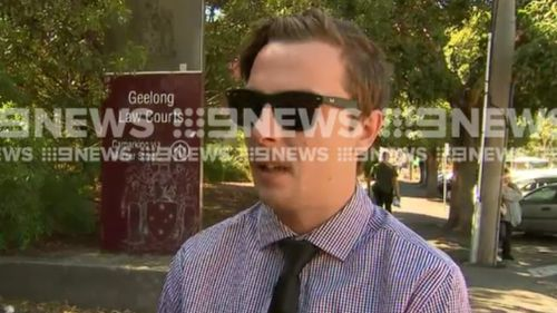 Hope-McKeown spoke to 9NEW outside court today. (9NEWS)