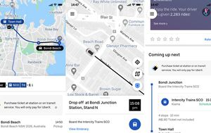 Uber introduces new public transport feature in world-first for Sydney