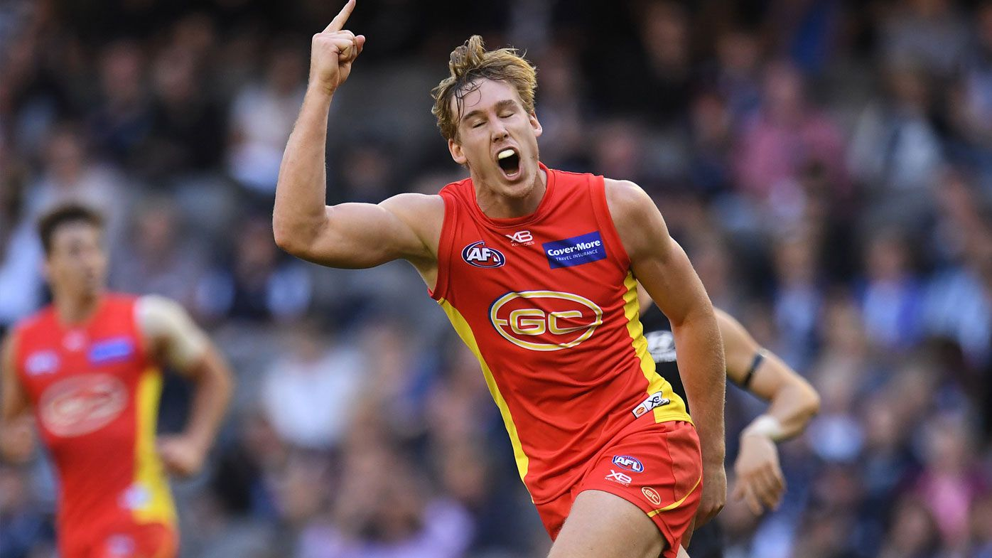 Gold Coast Suns star Tom Lynch heading to Richmond Tigers: Report